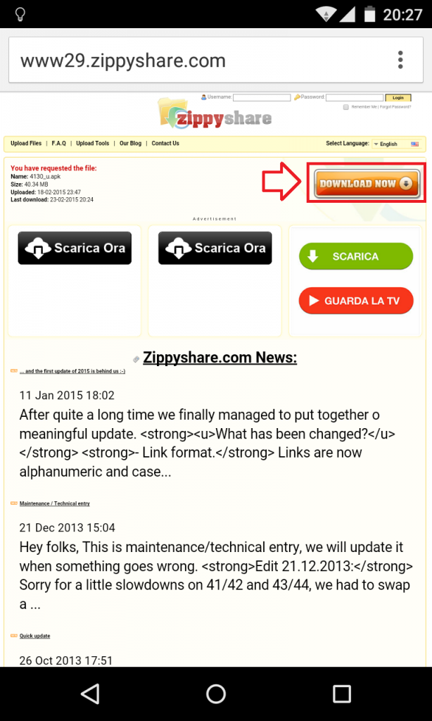 zippyshare download file mobile