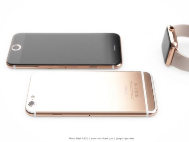 iPhone 6s oro e nero