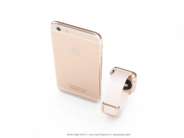 iPhone 6s oro e rosa