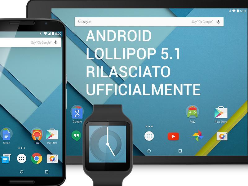 Android 5.1 per Nexus