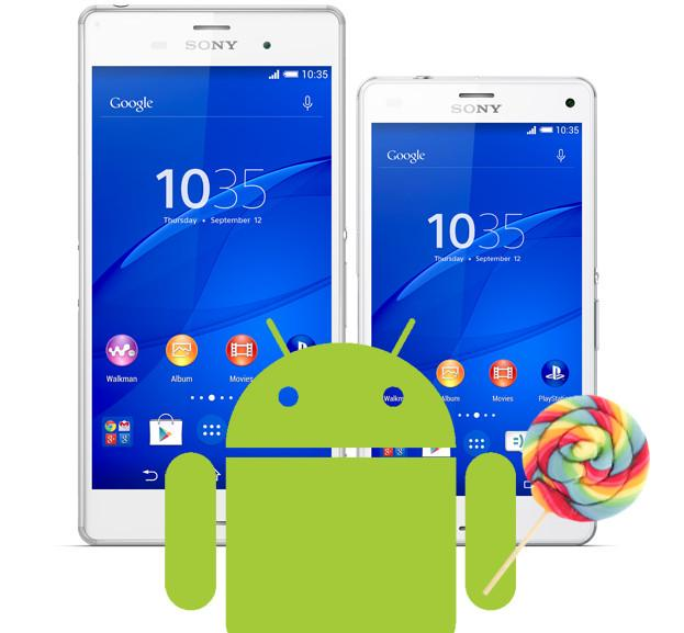 Android Lollipop su Xperia