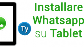 Installare whatsapp tablet