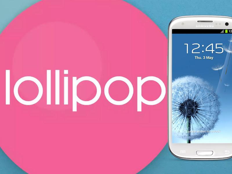 Migliori Rom Android Lollipop per Galaxy S3