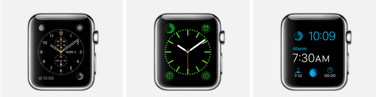 Schermi 1 Apple Watch