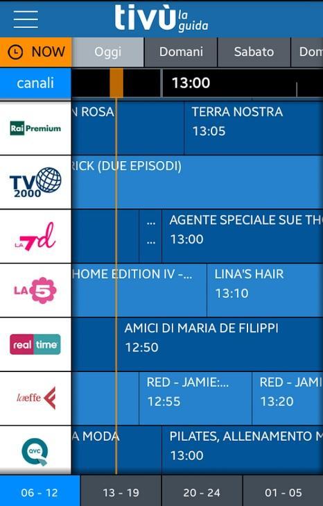 TV la guida programmi