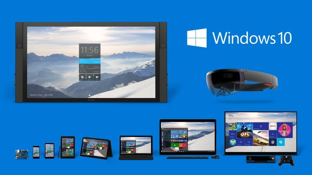Windows 10 famiglia prodotti