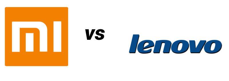 Xiaomi vs Lenovo