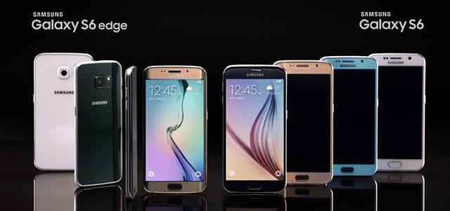 Galaxy S6 vs Galaxy S6 Edge