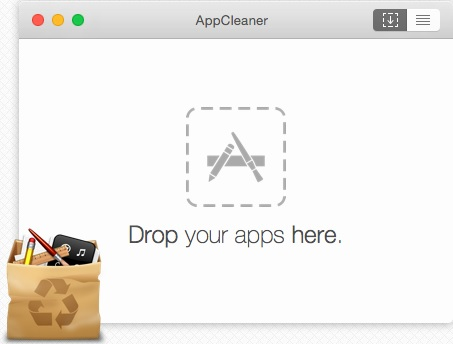 AppCleaner eliminare programmi Mac