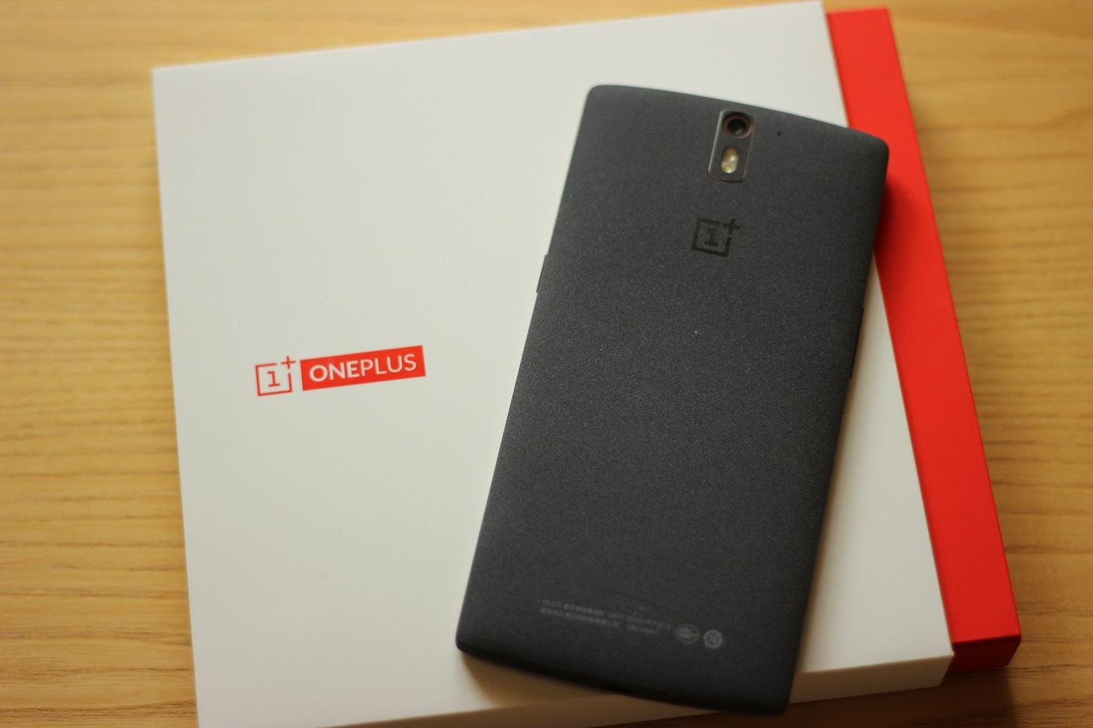 OnePlus One Sandstone Black