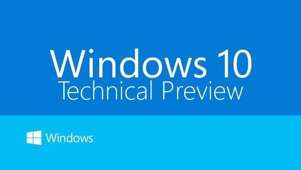 Windows 10 Mobile Technical Preview