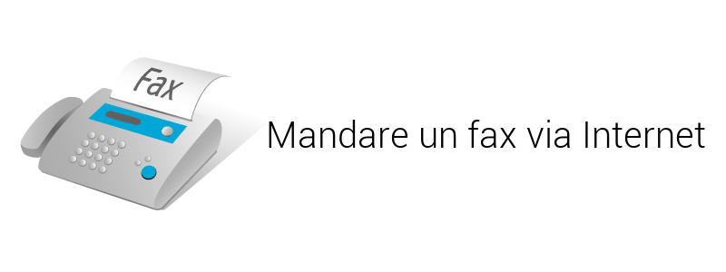 mandare un fax via internet