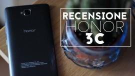 Recensione Honor 3C: il piccolo smartphone dalle grandi potenzialità