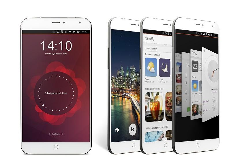 Meizu MX 4 Ubuntu Phone