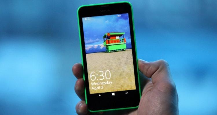 Lumia 630 con Windows 10 mobile