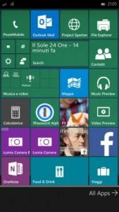 Start Screeen Windows 10