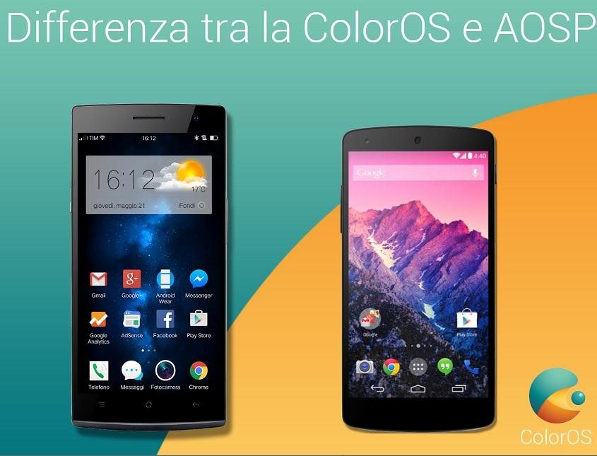 ColorOS vs Android AOSP