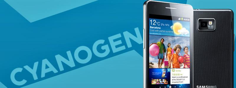 CyanogenMod 12.1 Galaxy S2