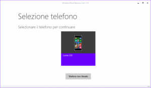 Ripristino Windows Phone 8.1