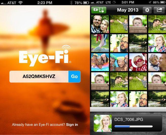 Eyefi Mobi applicazione