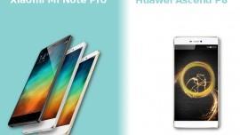 Huawei Ascend P8 vs Xiaomi Mi Note Pro: top di gamma cinesi 2015