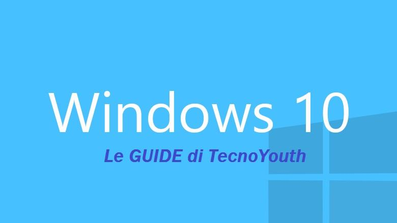 ripristinare le icone di Windows 10