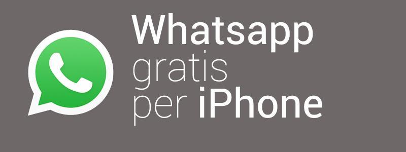 WhatsApp gratis iPhone