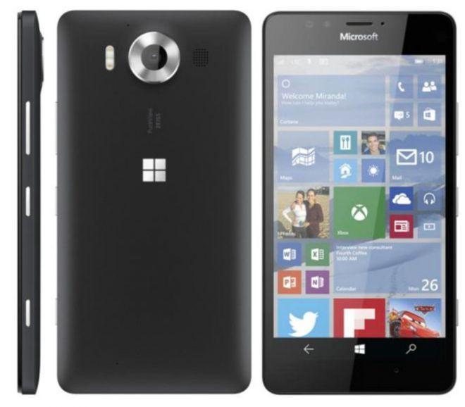 Lumia 950 render