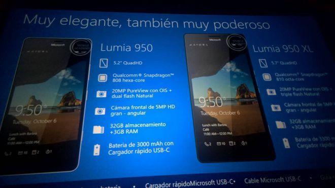 Lumia 950 Lumia 550