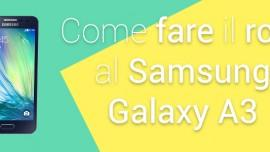 Root Samsung Galaxy A3