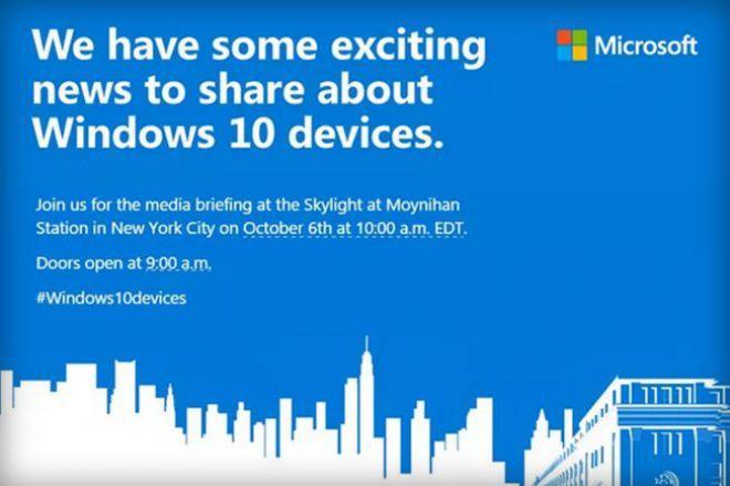 Locandina evento Microsoft