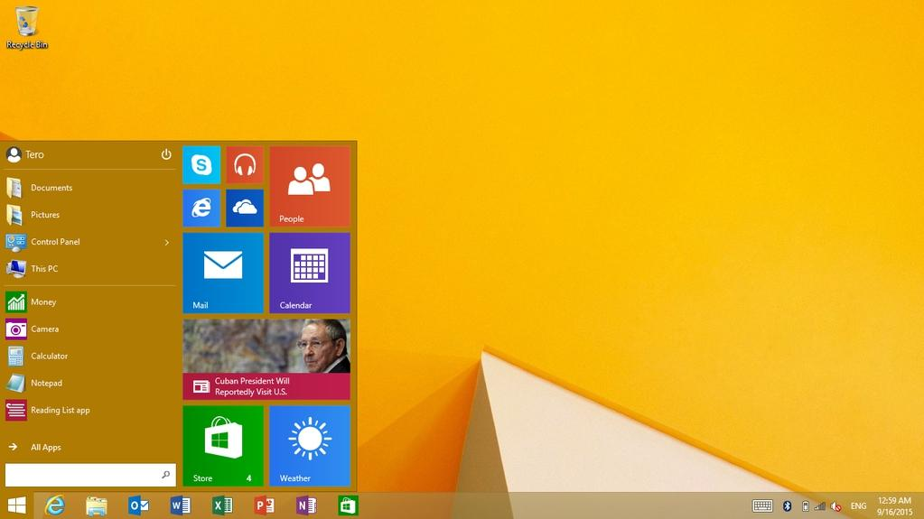 Windows RT Update 3