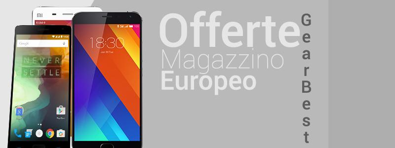 offerte magazzino europeo GearBest