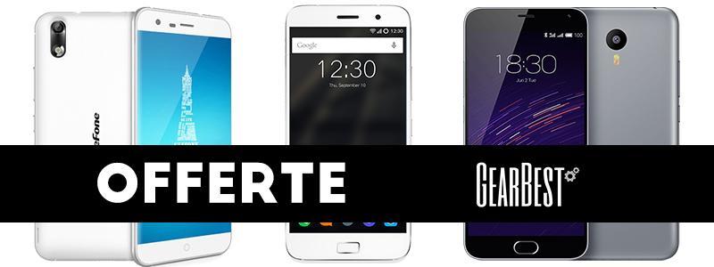 ZUK Z1, Ulefone Paris e Meizu M2 Note in offerta su Gearbest