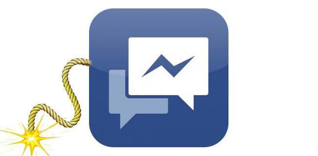 Facebook Messaggi autodistruzione Snapchat