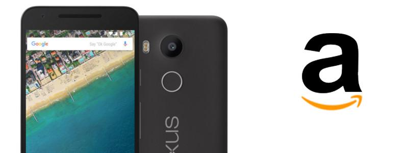 Google Nexus 5X Amazon offerta