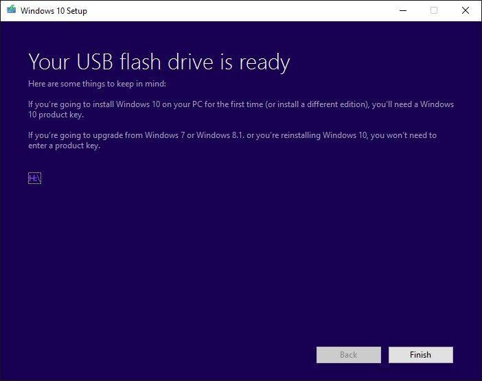 Media Tool Windows 10 Fine