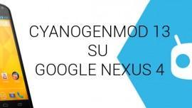 Nexus 4 CyanogenMod 13