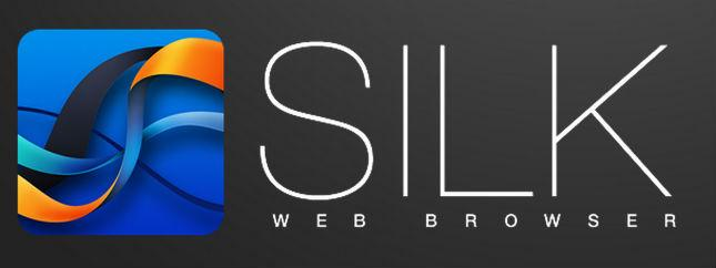 Silk Amazon tablet browser
