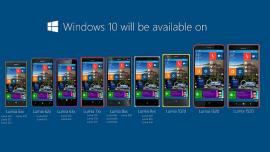 Windows 10 Mobile: Microsoft posticipa a Febbraio l'arrivo dell'aggiornamento