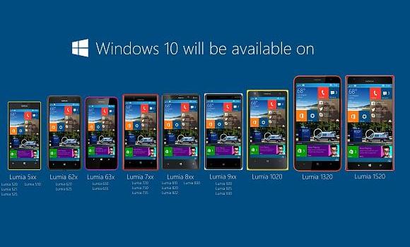 WP10 smartphone aggiornamento