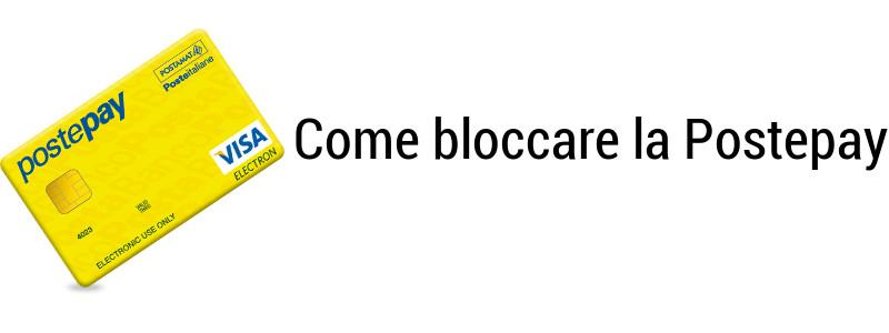 Bloccare Postepay