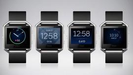 FitBit Blaze, smartwatch per salute e sport presentato al Consumer Electronics Show 2016