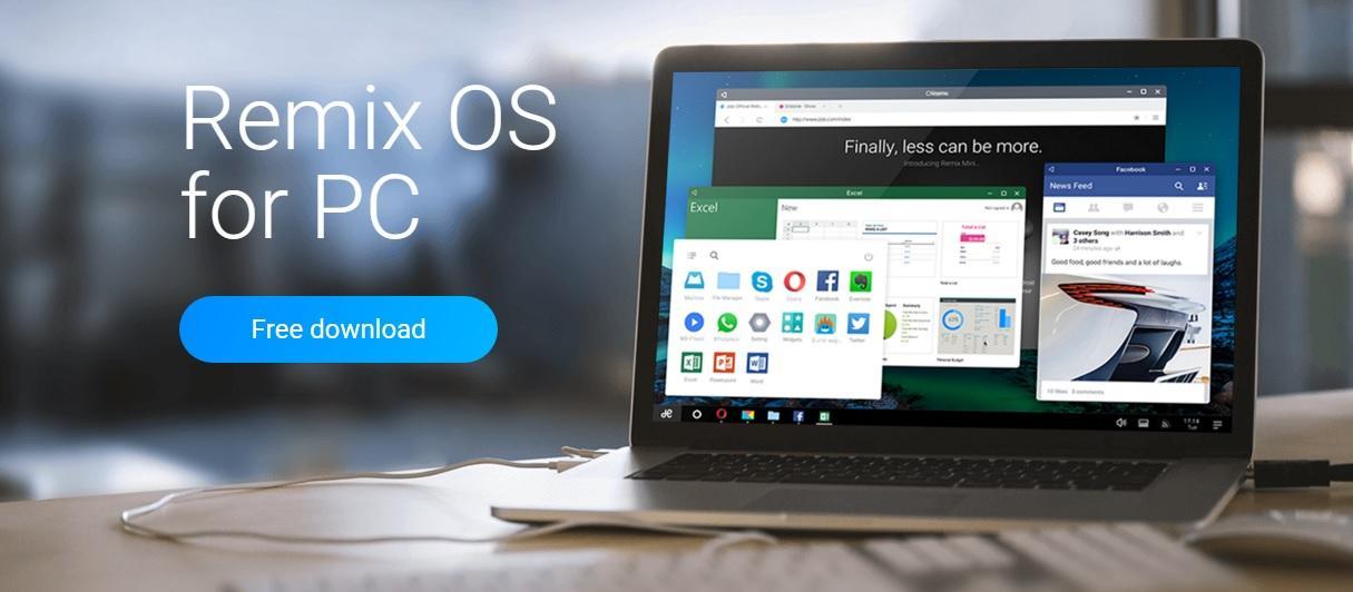 Remix OS installazione PC