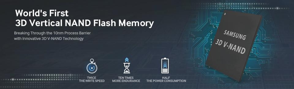 Samsung memoria flash V-NAND