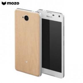 cover Lumia 650 legno