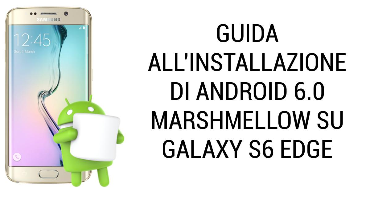 Android M su Galaxy S6 Edge