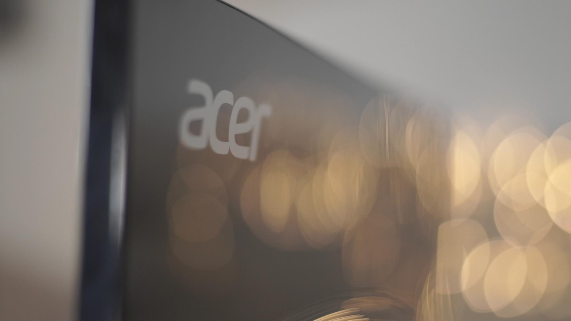 Recensione Monitor Acer G7 colori