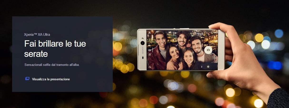 Xperia ZA Ultra selfie phone