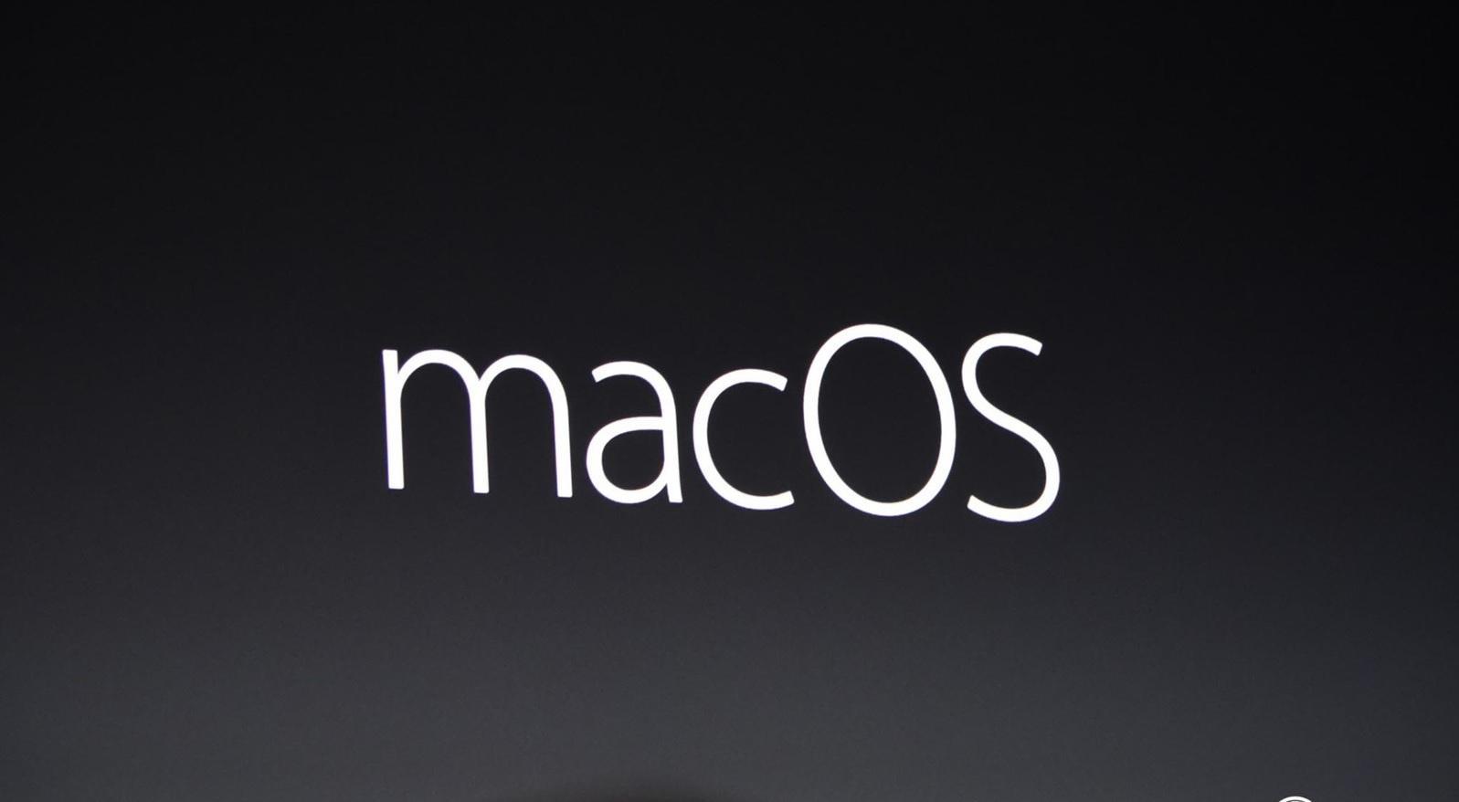 MacOS 12 Sierra